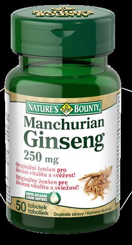 Manchurian Ginseng 250 mg | ženšen