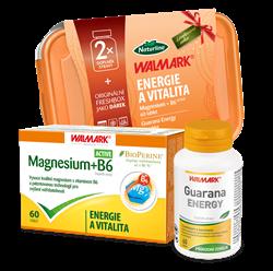 Guarana ENERGY tbl.60 +Magnesium B6 ACTIVE tbl.60 +dárek