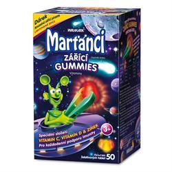 Marťánci Zářící Gummies