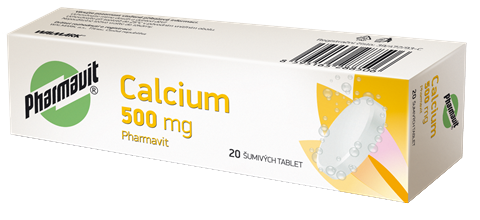 Calcium 500 mg Pharmavit