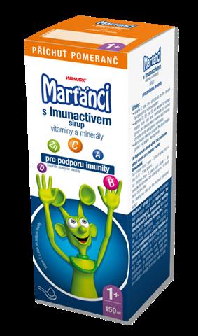 Marťánci s Imunactivem sirup