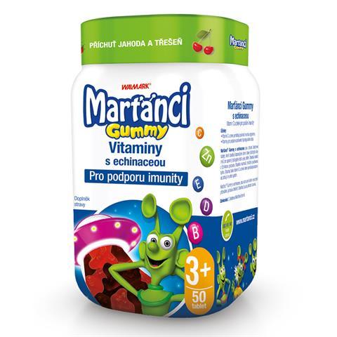 Marťánci Gummy s echinaceou