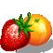 Megacéčko MIX 600 mg - s pomerančovou a jahodovou  příchutí