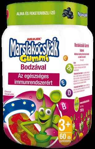 Marslakócskák Gummi Bodzával
