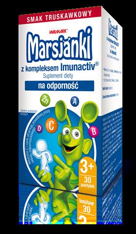 Marsjanki z kompleksem Imunactiv – codzienne wsparcie odporności