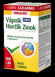 Vápnik Horčík Zinok Forte