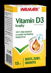 Vitamín D3 kvapky