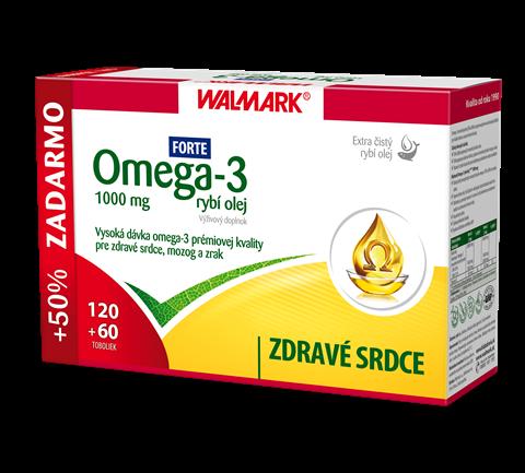 Omega-3 rybí olej FORTE