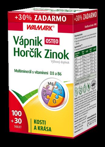 Vápnik Horčík Zinok OSTEO