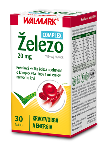 Železo 20 mg COMPLEX