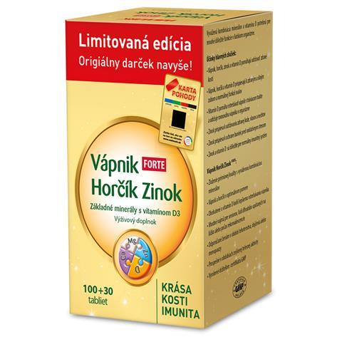 Vápnik Horčík Zinok FORTE (limitovaná edícia)