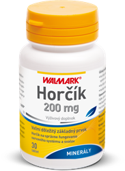 Horčík (Magnézium) 200 mg
