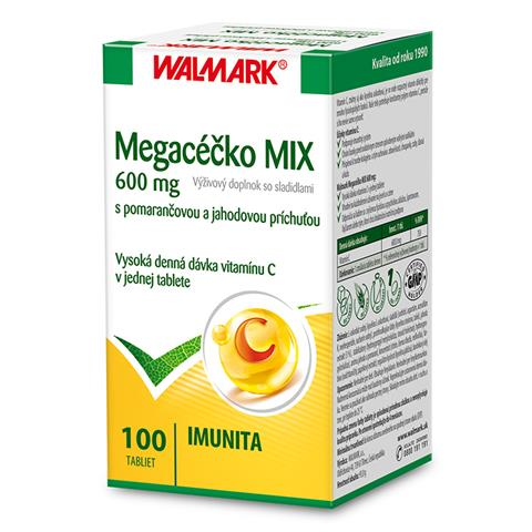 Megacéčko MIX 600 mg