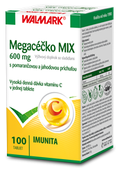 Megacéčko MIX 600 mg