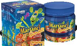 Marťánci Gummi pro řádný růst a rozvoj kostí dětí