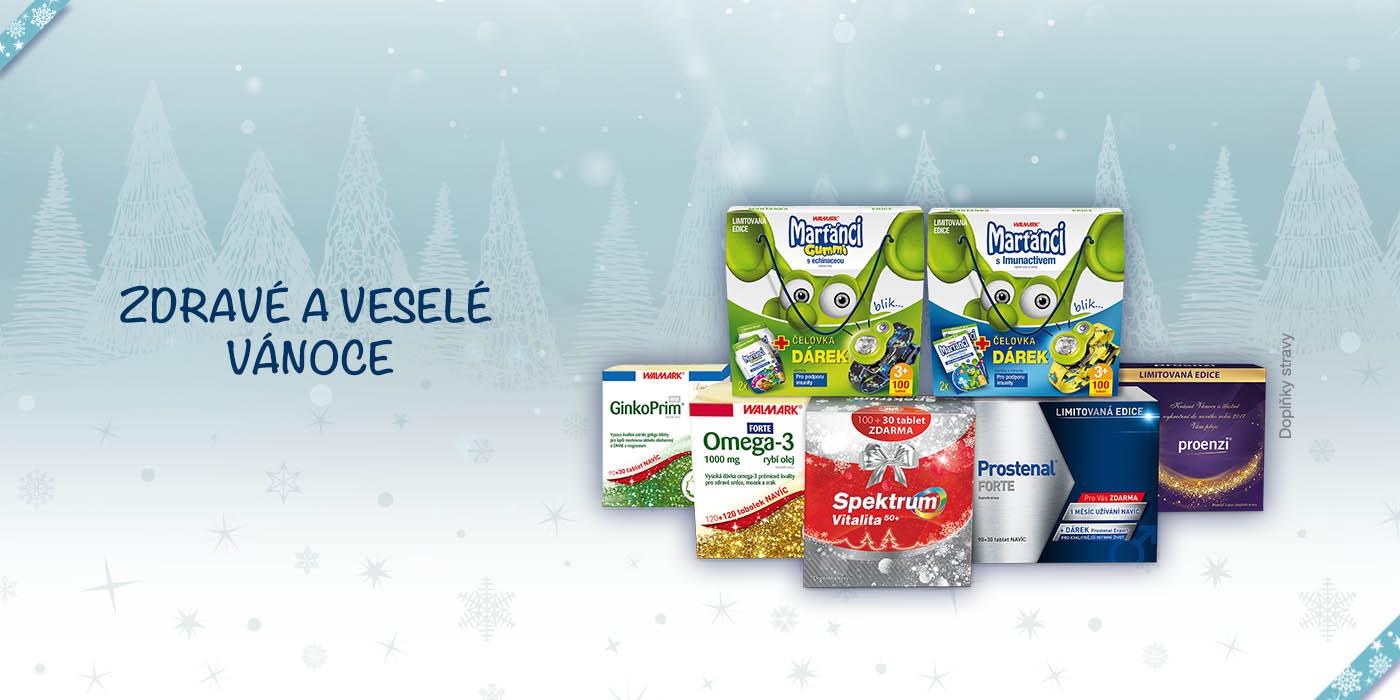 Dárky pro zdraví a krásu pro celou rodinu a navíc dvě vánoční soutěže