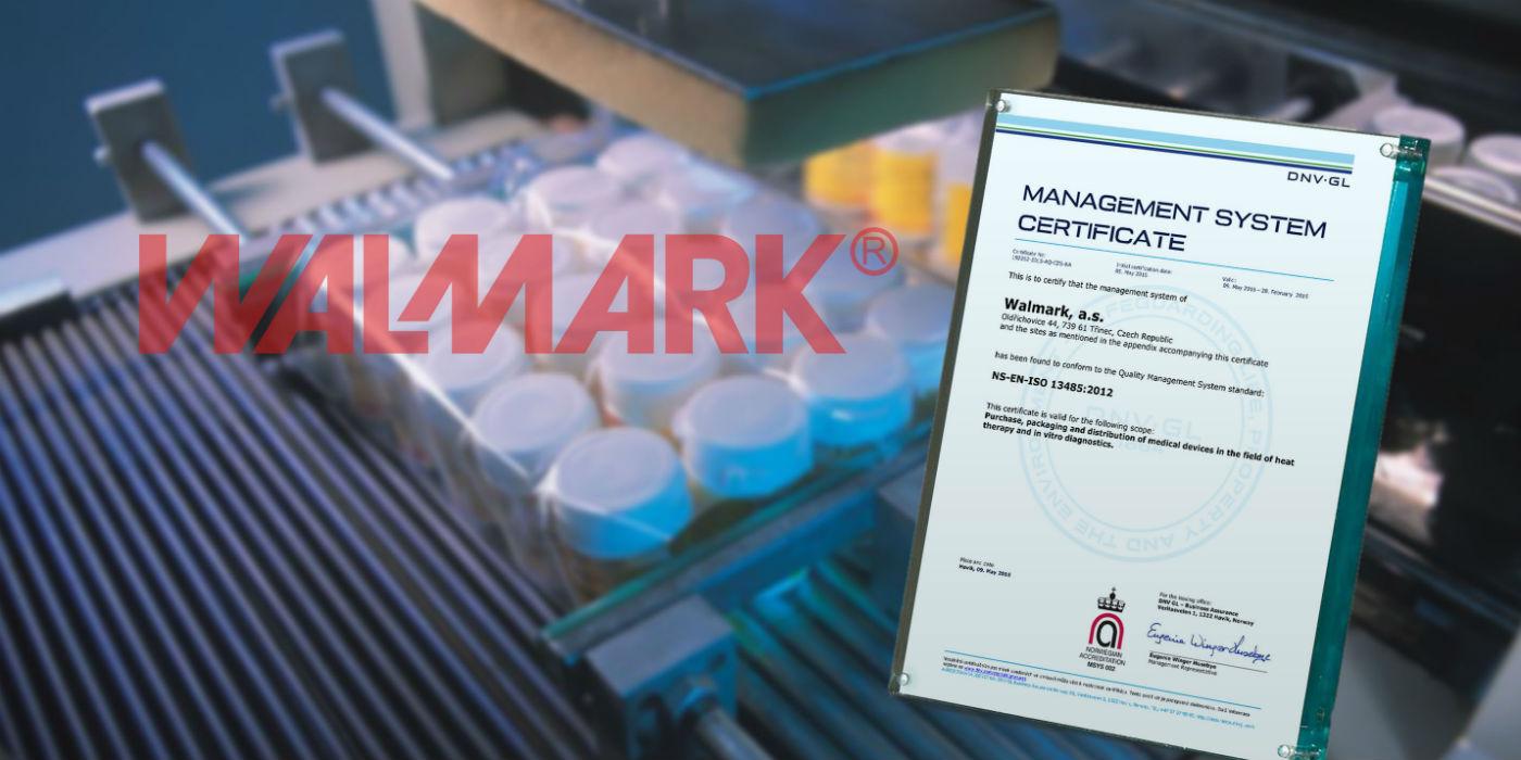 Walmark získal certifikát ISO