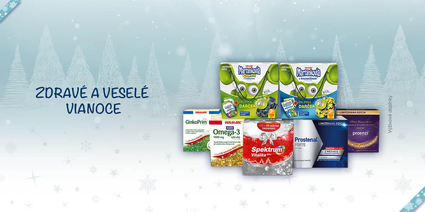 Darčeky pre zdravie a krásu celej rodiny a navyše dve vianočné súťaže
